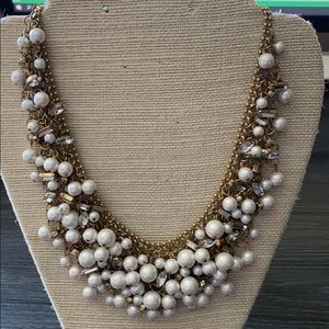 Stella and dot pearl bib